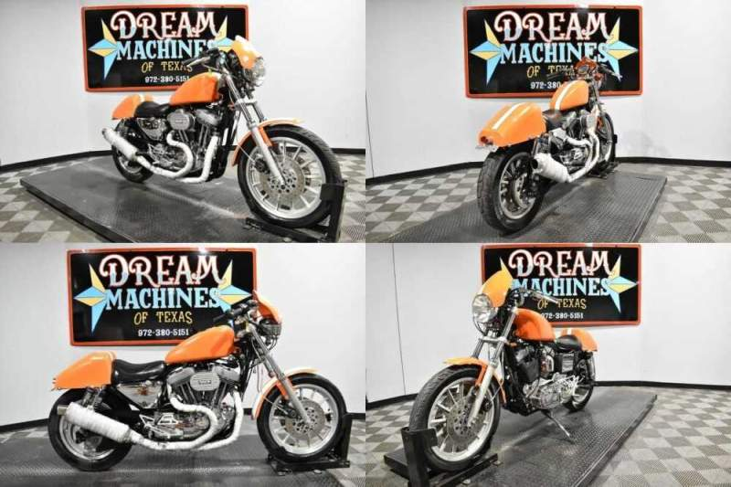 1997 Harley-Davidson XL1200S - Sportster 1200 Sport Orange for sale craigslist