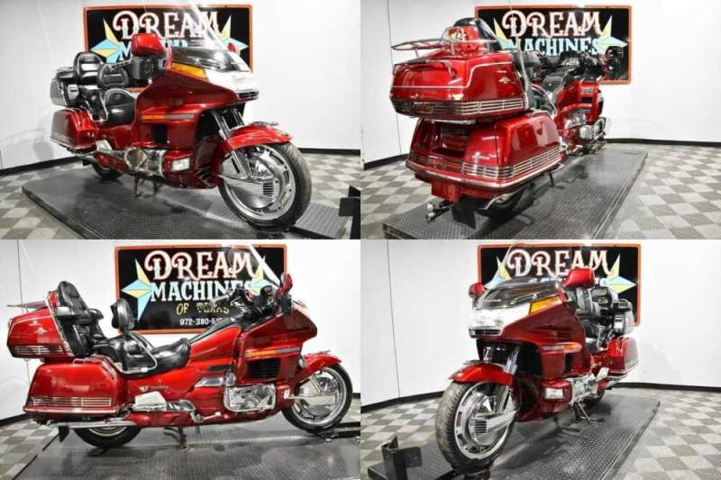 1997 Honda Gold Wing Aspencade - GL1500A Red for sale craigslist photo