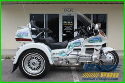 1997 Honda Gold Wing White for sale