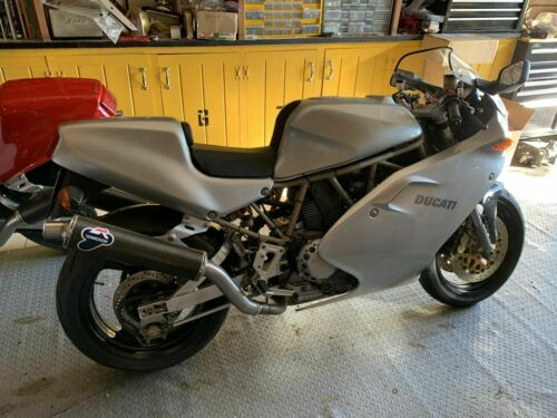 1998 Ducati Supersport Silver for sale craigslist photo