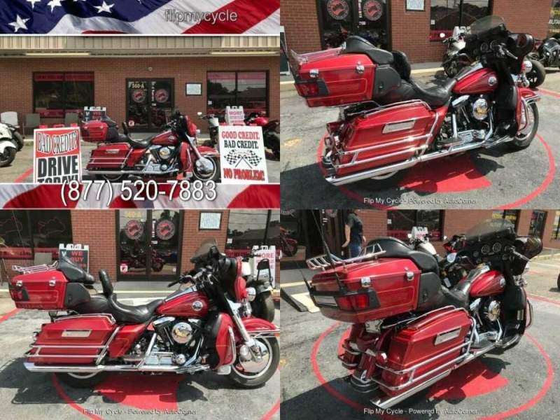 1998 Harley-Davidson FLHTCUI Electra Glide Ultra Classic Red for sale