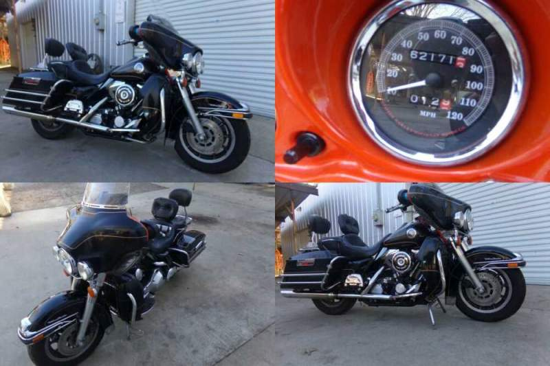 1998 Harley-Davidson Touring Black for sale craigslist photo