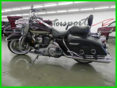 1998 Harley-Davidson Touring 95th Anniversary Maroon & Gold for sale craigslist photo