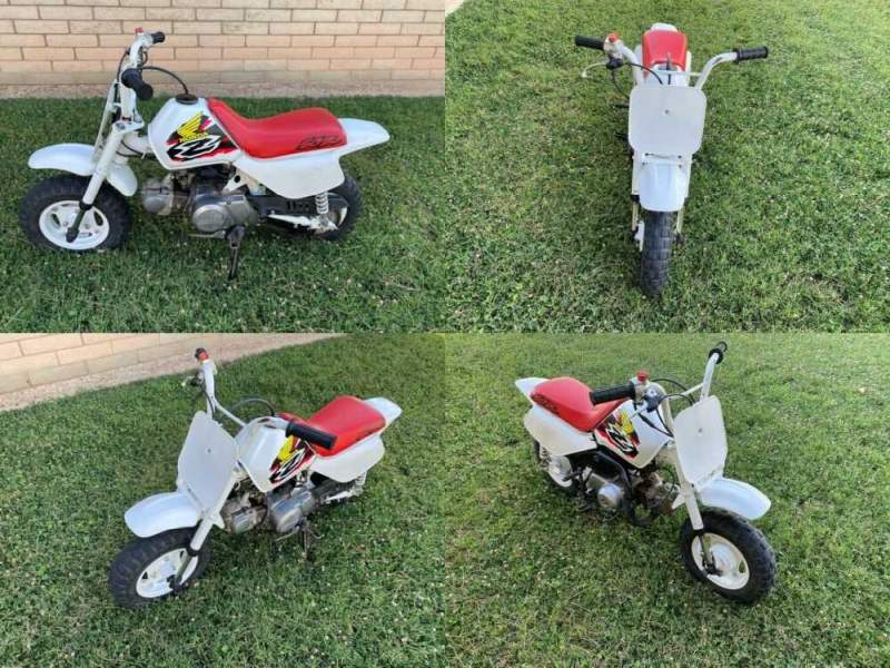 1998 Honda Z50R White for sale craigslist photo