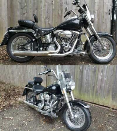 1999 Custom Built Motorcycles ULTIMA Black for sale craigslist photo