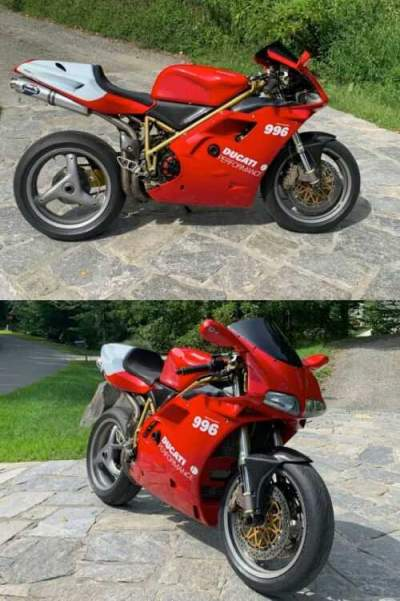 1999 Ducati Superbike Red for sale craigslist