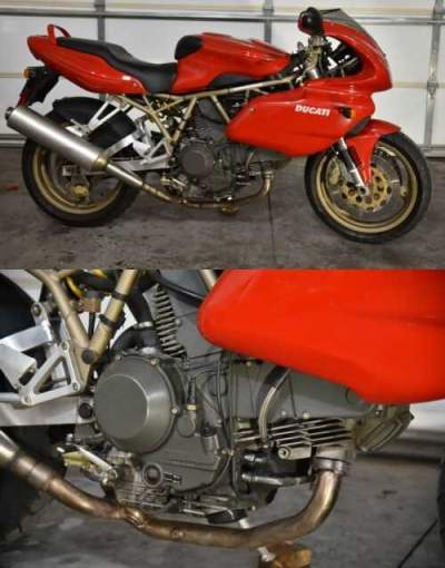 1999 Ducati Supersport Red for sale craigslist photo