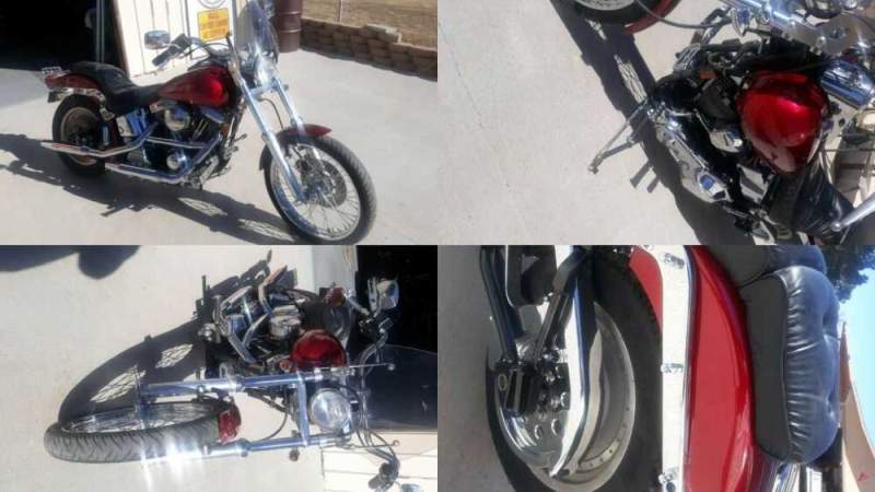 1999 Harley-Davidson Softail Red for sale