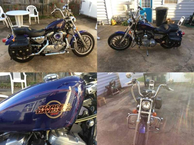 1999 Harley-Davidson Sportster Blue for sale