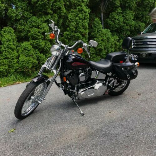 1999 Harley-Davidson Springer softail Black for sale craigslist photo