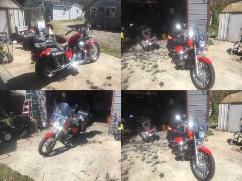 1999 Honda Shadow Red for sale craigslist photo
