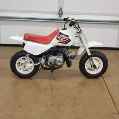 1999 Honda Z50R White for sale