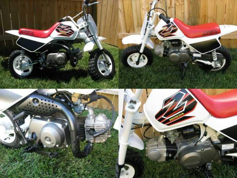 1999 Honda Z50R White for sale craigslist