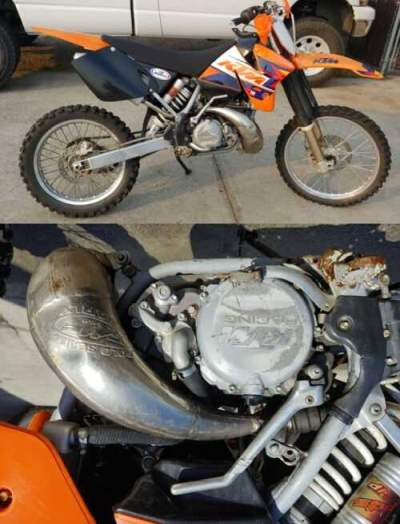 1999 KTM SX  for sale craigslist photo
