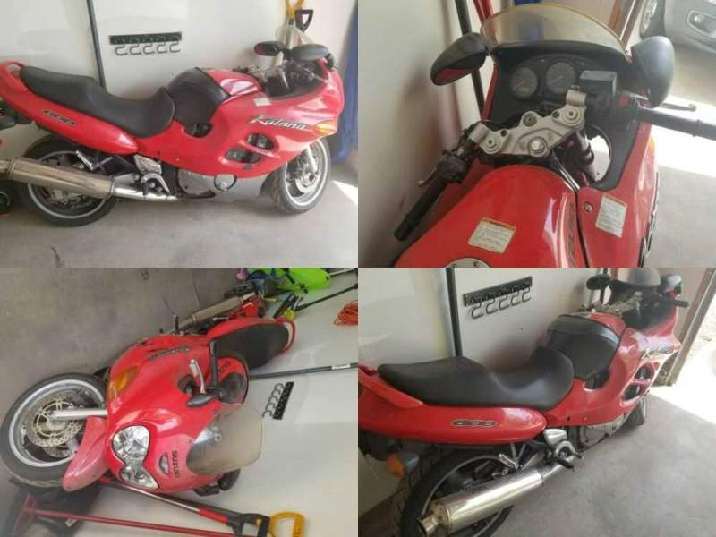 1999 Suzuki GSX / Katana Red for sale