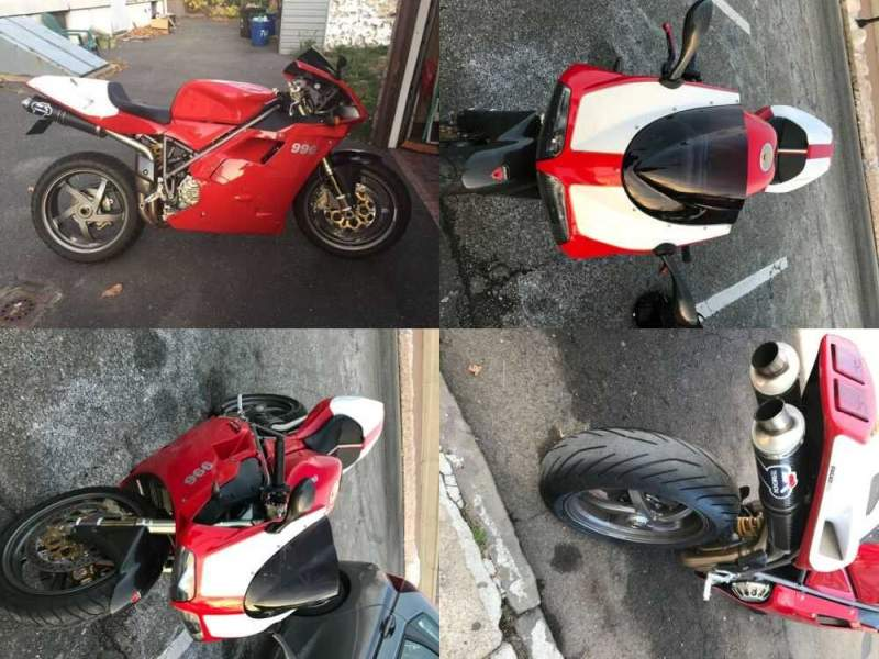 2000 Ducati Superbike Red for sale craigslist photo