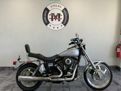 2000 Harley-Davidson FXDX SUPER GLIDE SPORT Silver for sale craigslist photo
