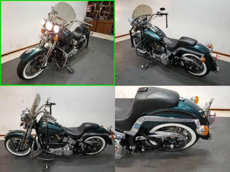 2000 Harley-Davidson Softail Springer® Softail® Green for sale