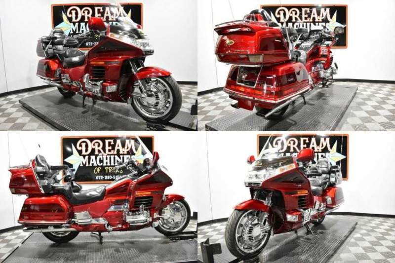 2000 Honda Gold Wing SE - GL1500SE Red for sale craigslist photo