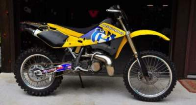 2000 Husqvarna WR360 Yellow/Blue/Black for sale craigslist photo