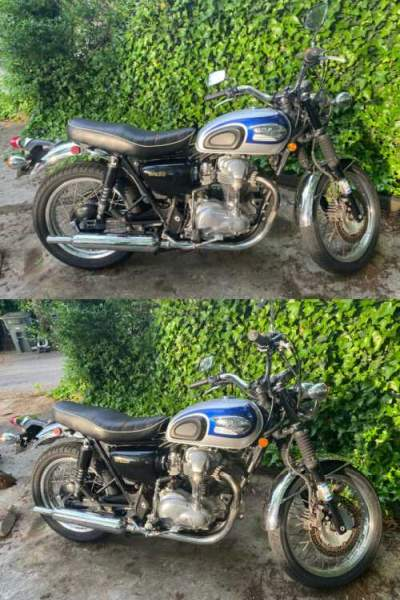 2000 Kawasaki W650 Blue for sale craigslist