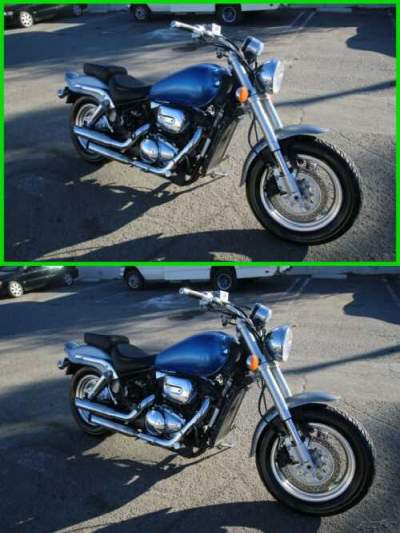 2000 Suzuki Marauder 800 Blue for sale craigslist photo