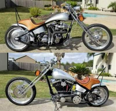 2001 American Ironhorse TEJAS Silver for sale craigslist photo