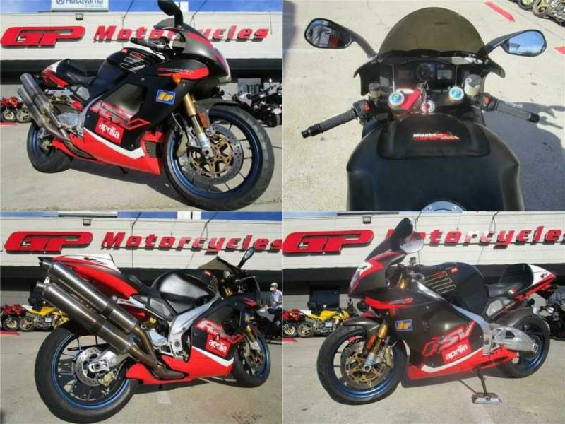 2001 Aprilia RSV MILLE R Black for sale craigslist photo
