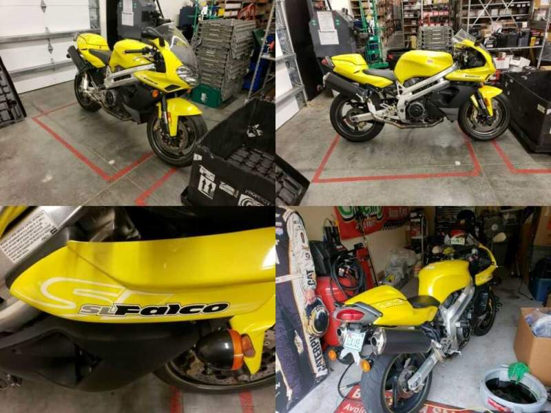 2001 Aprilia SL1000  for sale craigslist photo