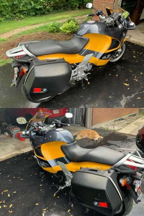 2001 BMW K1200RS Yellow/Black for sale