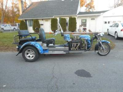 2001 Custom Built Motorcycles CUSTOM BUILT TRIKE Blue for sale craigslist