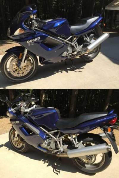 2001 Ducati Sport Touring Blue for sale craigslist