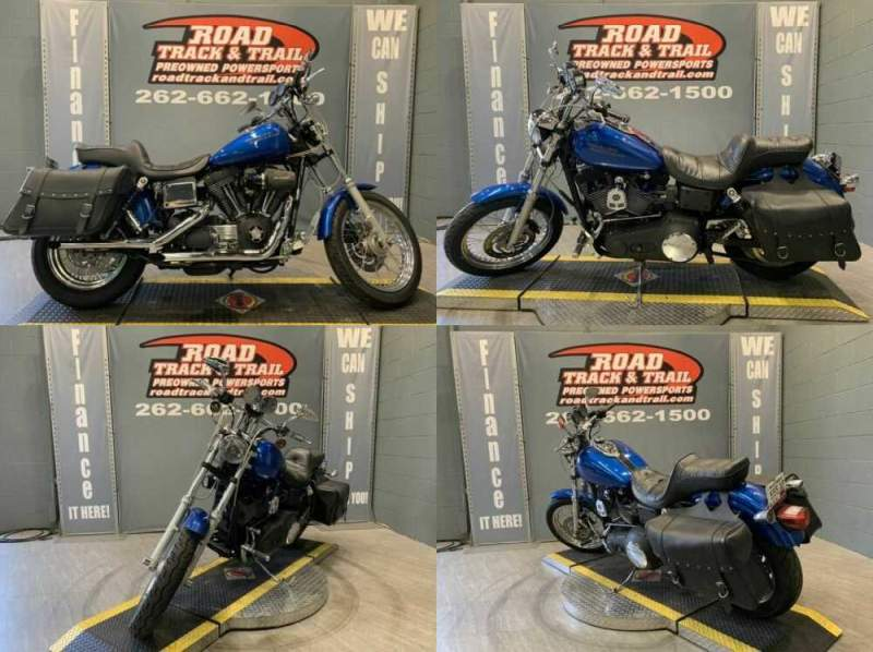 2001 Harley-Davidson FXDX - Dyna® Super Glide® Sport Blue for sale craigslist photo