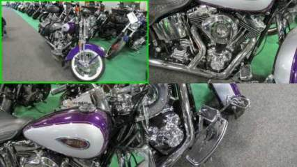 2001 Harley-Davidson SPRINGER SOFTAIL PURPLE SILVER for sale craigslist photo