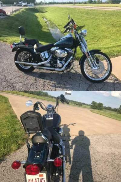 2001 Harley-Davidson Softail Blue for sale craigslist