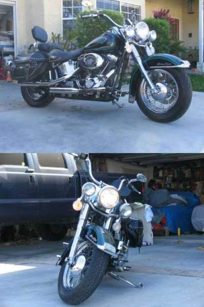 2001 Harley-Davidson Softail Emerald Green & Black for sale craigslist