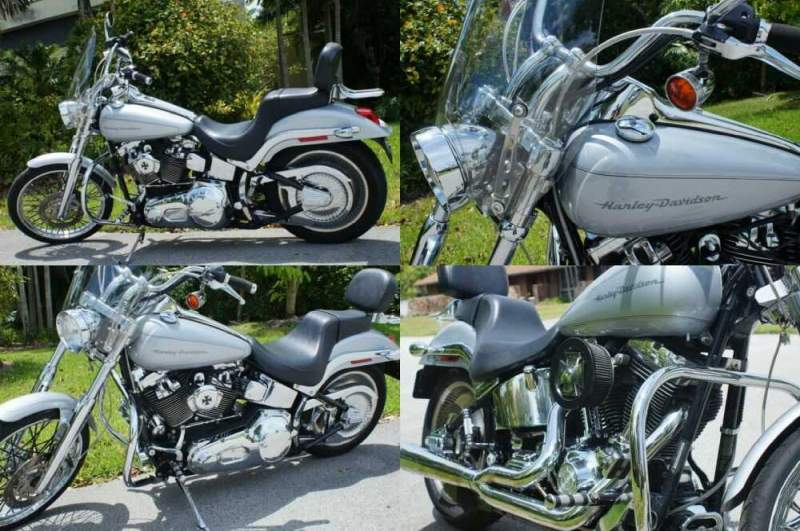 2001 Harley-Davidson Softail Silver for sale craigslist