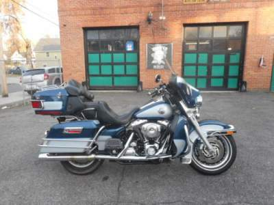 2001 Harley-Davidson Touring Blue for sale