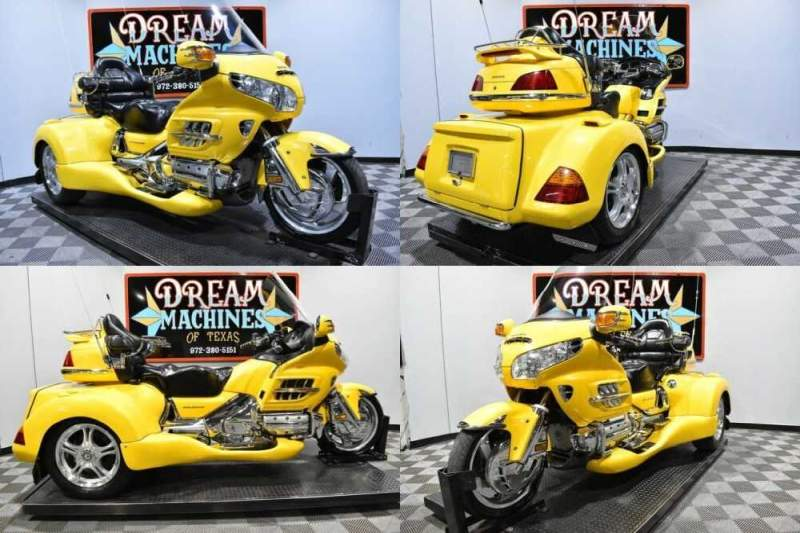 2001 Honda Gold Wing - GL18001 Trike Yellow for sale craigslist photo