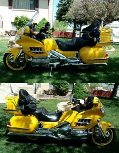 2001 Honda Gold Wing Yellow for sale craigslist