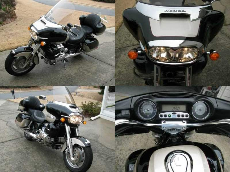 2001 Honda Valkyrie Black and light gold for sale craigslist photo