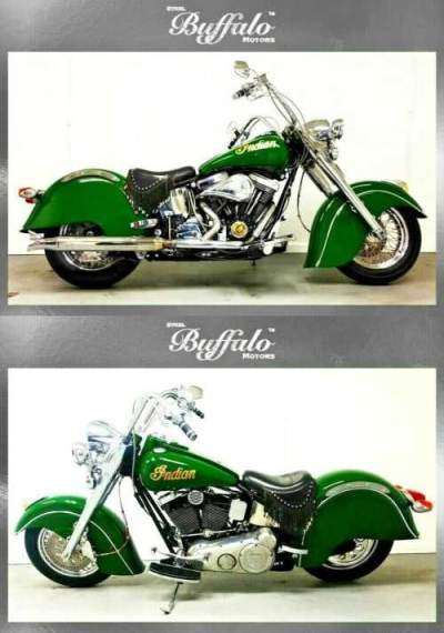 2001 Indian CHIEF CENTENNIAL YEAR 100 YR ANNIVERSARY XLNT BRITISH RACING GREEN for sale craigslist