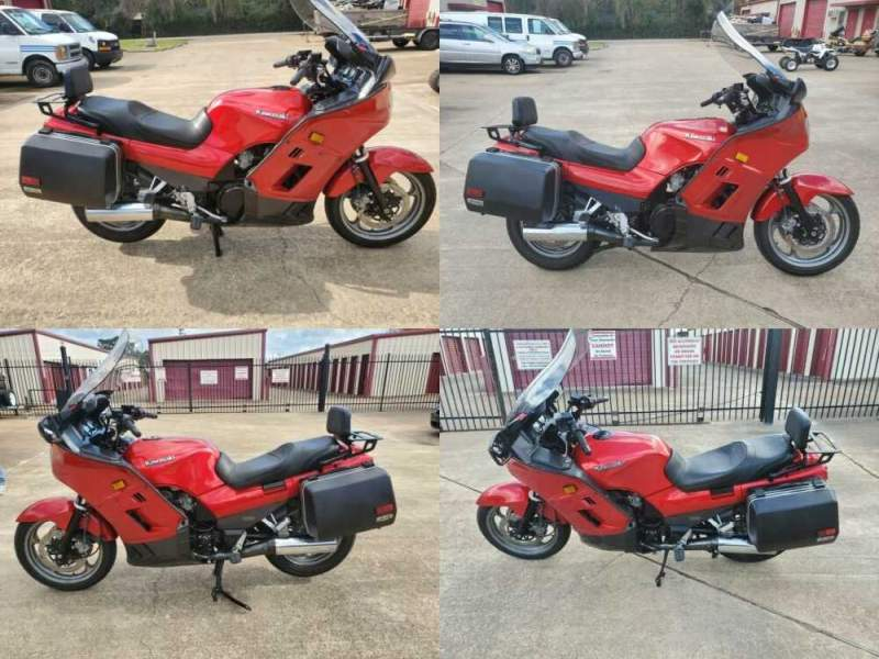 2001 Kawasaki Concours Red for sale craigslist photo