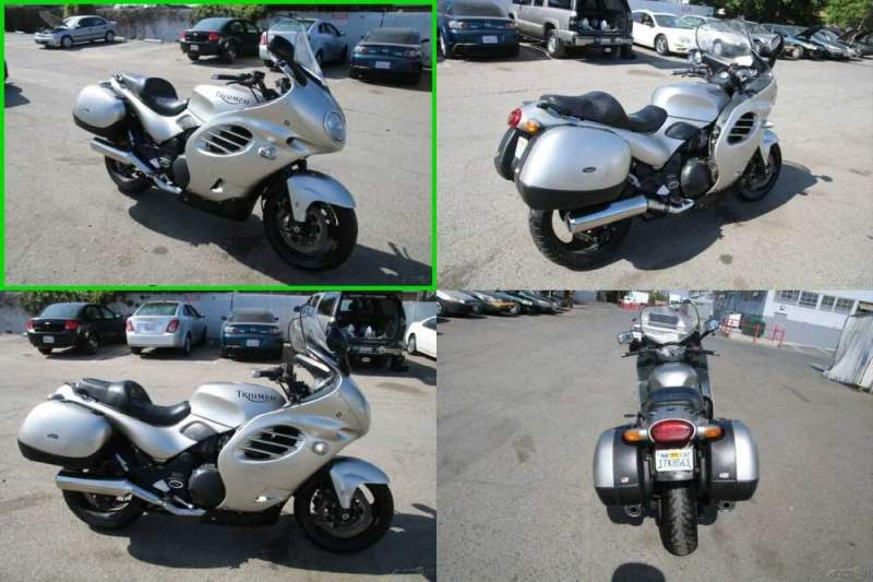 2001 Triumph Trophy Gray for sale craigslist photo