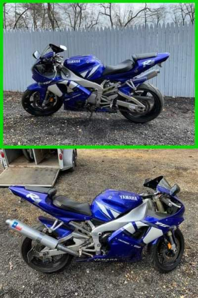 2001 Yamaha YZF R1 Blue/White for sale