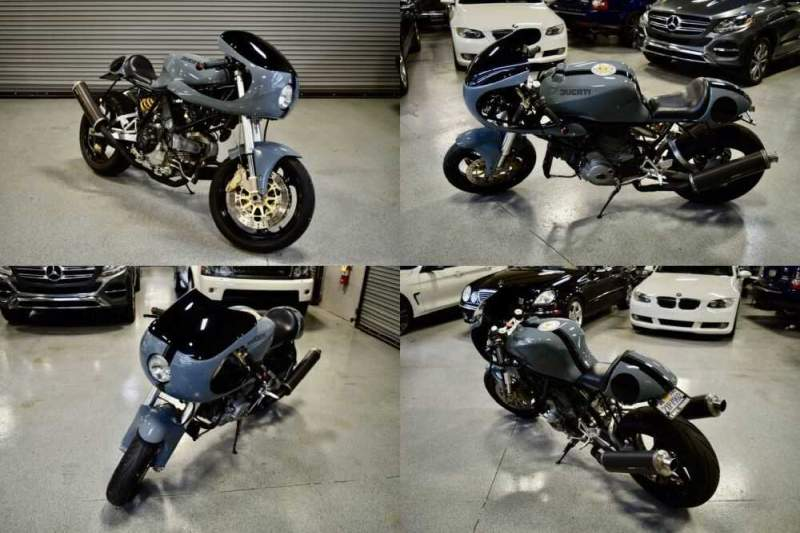 2002 Ducati Supersport Gray for sale