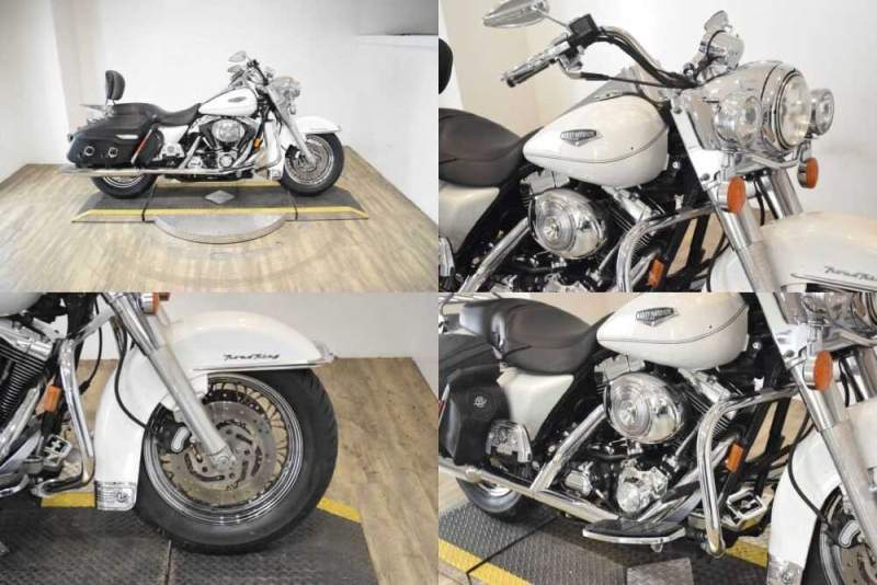 2002 Harley-Davidson FLHRCI Road King® Classic White for sale craigslist photo