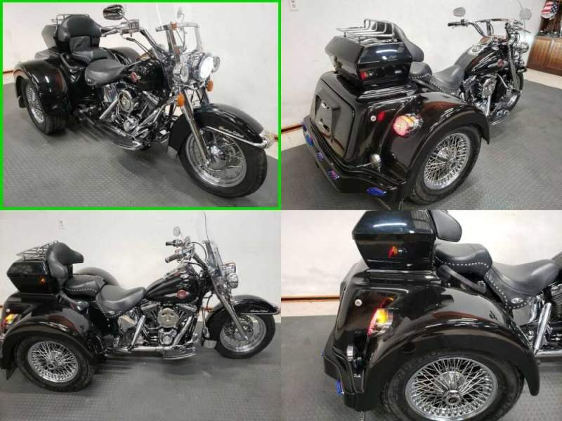 2002 Harley-Davidson Softail Heritage Softail® Classic Black for sale