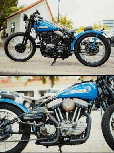2002 Harley-Davidson Sportster Blue for sale