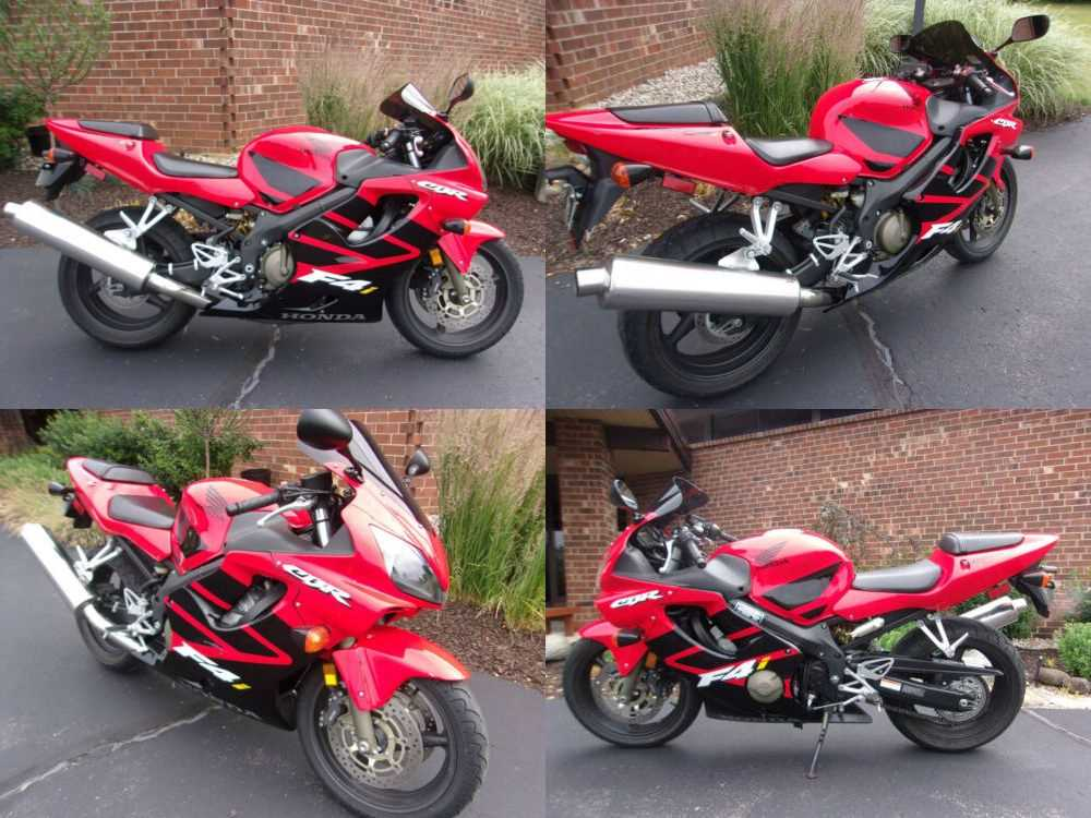2002 Honda CBR Red for sale